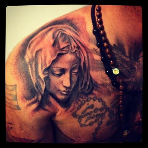 virgin mary tattoo on chest virgin mary tattoo tattoo pinterest