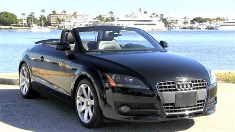 audi convertible 2008 2008 audi tt convertible brilliant black autos of palm