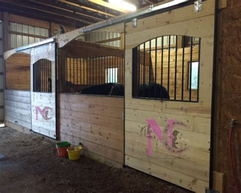 how to stall build your own stalls a practical barn diy stable style