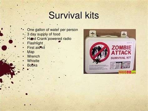 zombie themes for powerpoint powerpoint template zombie images powerpoint template