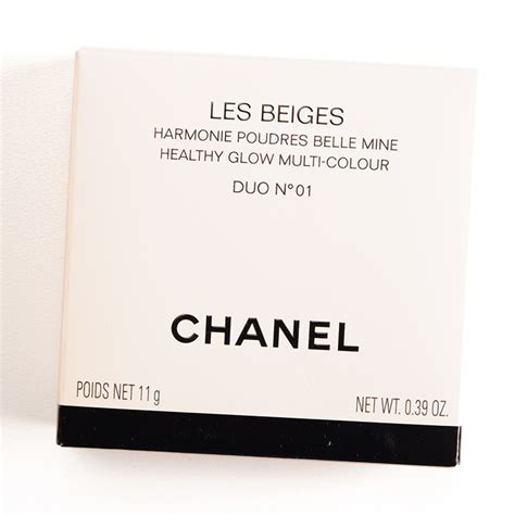 Chanel Duo chanel duo n 01 les beiges healthy glow multi colour