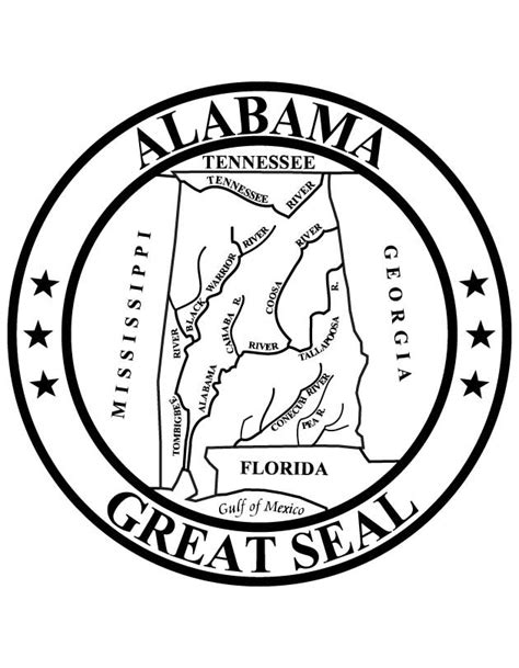 alabama state colors alabama state bird coloring page coloring home