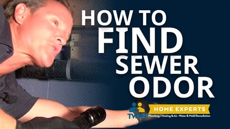 why is there a sewer smell in my bathroom how to find a sewer odor youtube