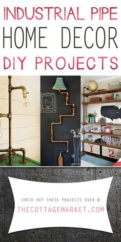 copper home decor diy projects the cottage market i love the plumbing pipe diy desk crafting ii