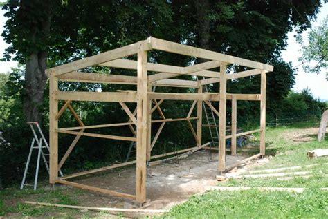 Construire Un Abris Pour Le Bois 4634 by Construction D Un Abri Pour 2 226 Nes Anesdelabassere