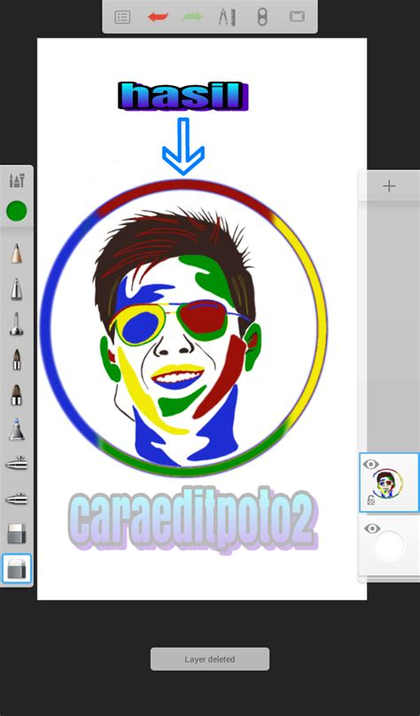 tutorial wpap android sketchbook tutorial edit foto pop art sketchbook android