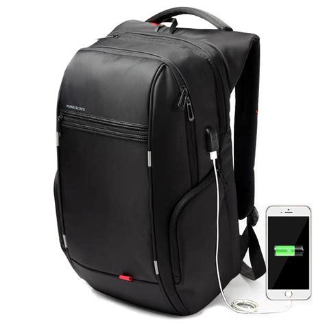 Tas Ransel 1 2 kingsons tas ransel laptop dengan usb charger black