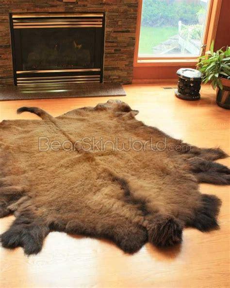 buffalo hide rugs buffalo hide rug the gentstyle gear