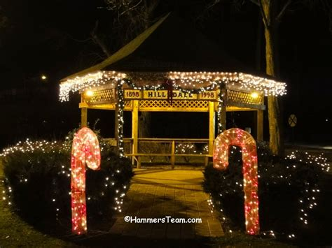 christmas lights union county nj holiday decorations bergen county new jersey