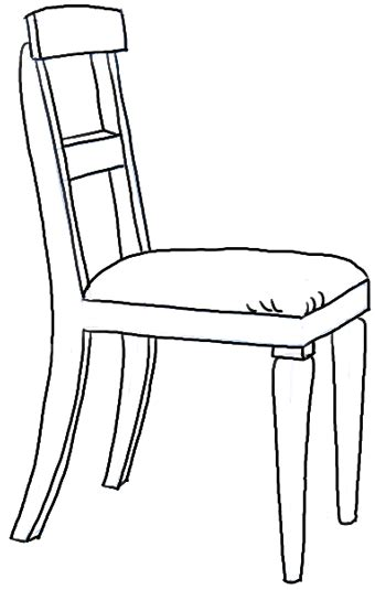 Chair Drawings by How To Draw A Chair In The Correct Perspective With Easy
