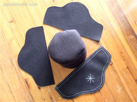 How To Make A Paper Tricorn Hat - pirate hat pattern