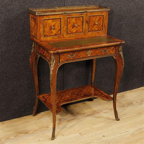 scrivanie stile antico scrittoio intarsiato scrivania mobile in legno tavolo