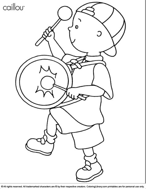 Caillou Printable Coloring Pages Caillou Coloring Picture by Caillou Printable Coloring Pages