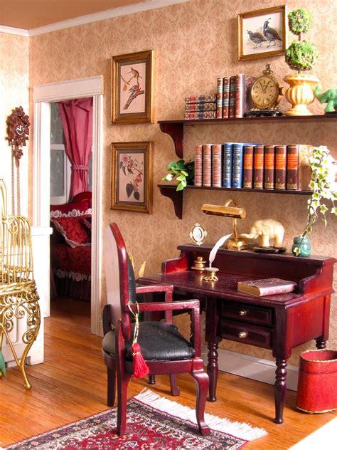 blukatkraft dollhouse miniatures victorian hall