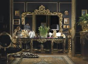 Italian Lacquer Bedroom Set 187 hand carved italian console in gold leaf finishtop and