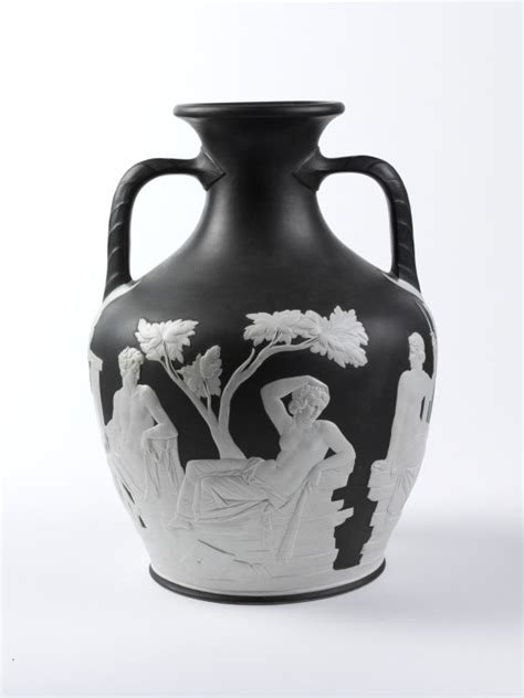 The Portland Vase by Copy Of The Portland Vase Josiah Wedgwood S Factory V