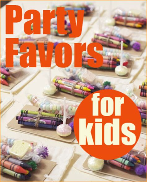 Giveaways For Kids - fun party favors for kids parties paige s party ideas
