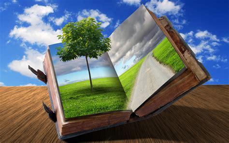 of nature a novel books cg digital 3d books imagination nature