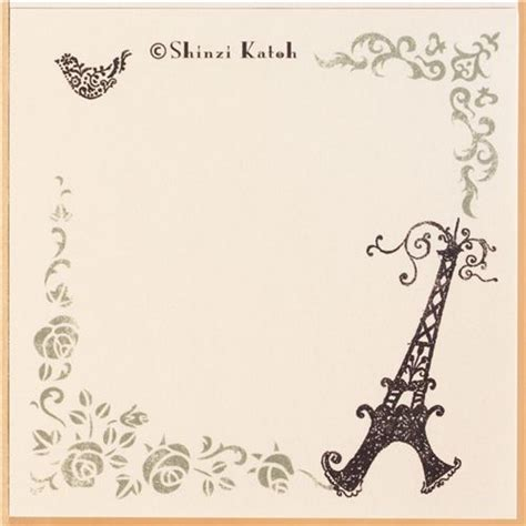 Cute Animal Mugs kawaii paris eiffel tower memo pad paper block pad memo