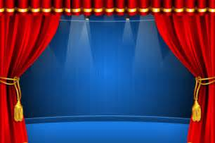 Red curtain elements vector background 04 vector background free