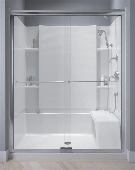 Sterling Shower Doors By Kohler Sterling Kohler Walk In Shower Sterling Shower Units Home Ideas Shower Units