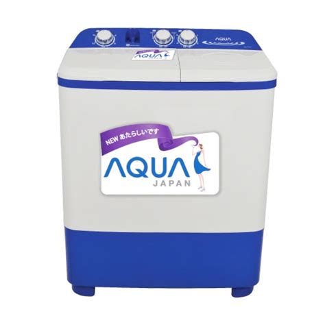 Mesin Cuci Aqua 1 Tabung jual aqua qw 871xt mesin cuci 2 tabung harga