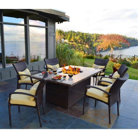 belham living tulie dining table pit dining table and chairs home ideas