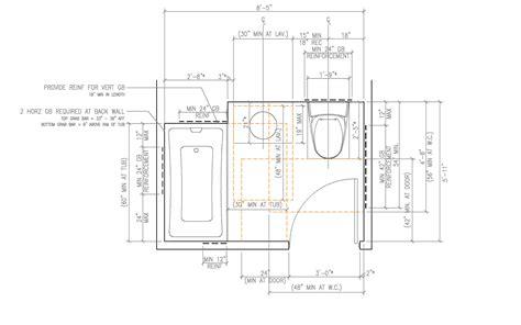 Ada Bathroom Height Requirements Ada Residential Bathroom Bathroom Grab Bars Height