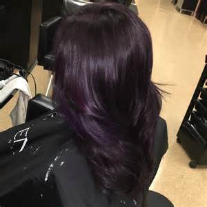 purple hair black 50 stylish dark purple hair color ideas destined to