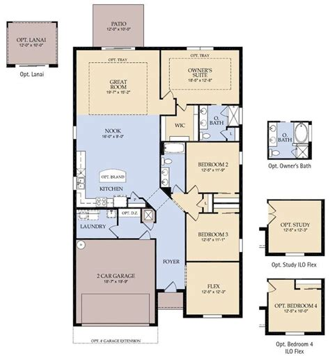 pulte home design options pulte house plans floor plans for ranch homes with 3
