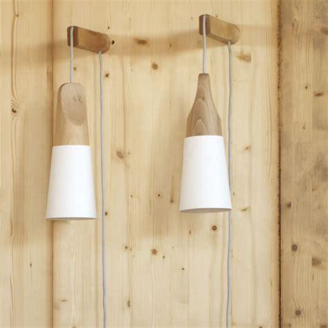 applique legno slope a lada da parete miniforms in legno e metallo