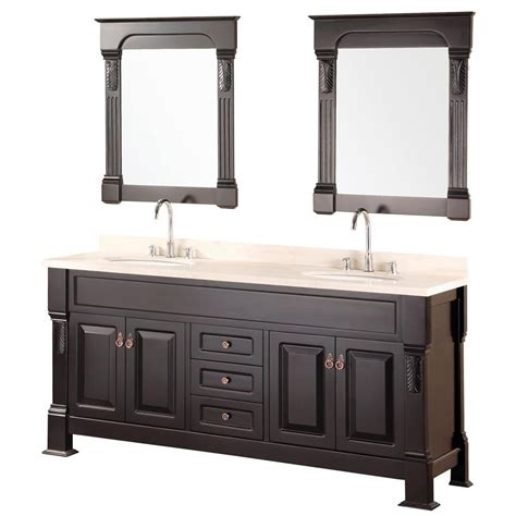 home depot design element vanity design element marcos 72 in w x 22 in d vanity in