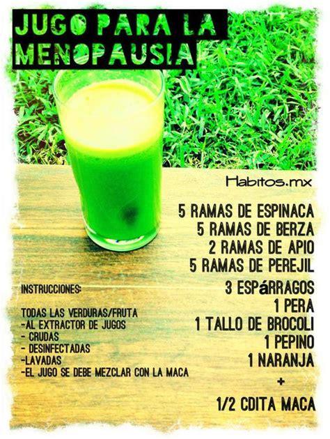 Detox Kiwiss Apio Y Espinscas by Jugo Verde Para La Menopausia Espinacas Berza Apio