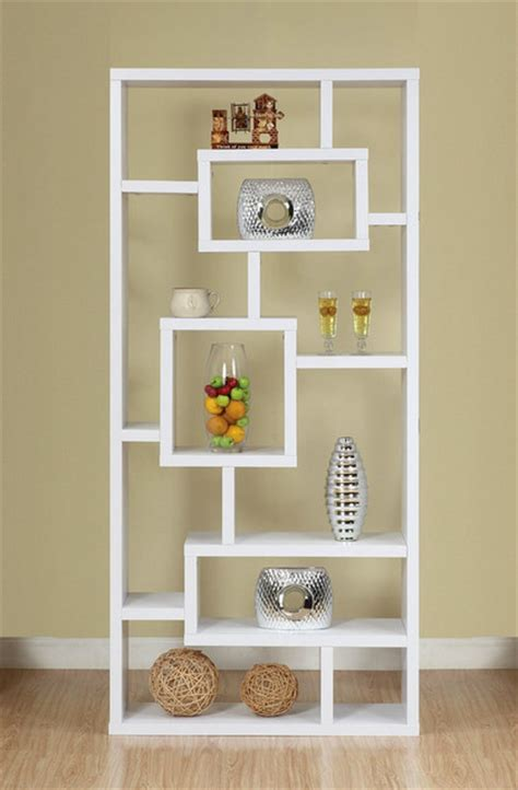 open back bookshelves enitial lab mateo open back bookcase white modern bookcases by