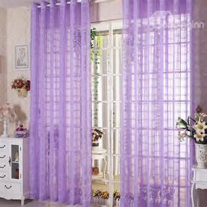 Purple Sheer Curtains Contemporary Light Purple Custom Sheer Curtain Beddinginn