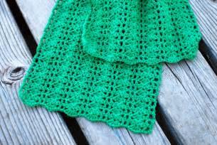 tickled pink crochet scarf free pattern for kids women