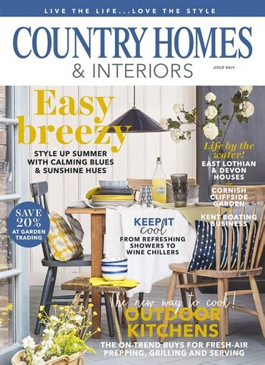 country homes and interiors magazine subscription country homes interiors magazine july 2017 subscriptions pocketmags