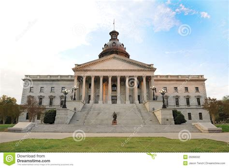 South Carolina House Plans south carolina state capital building stock photography