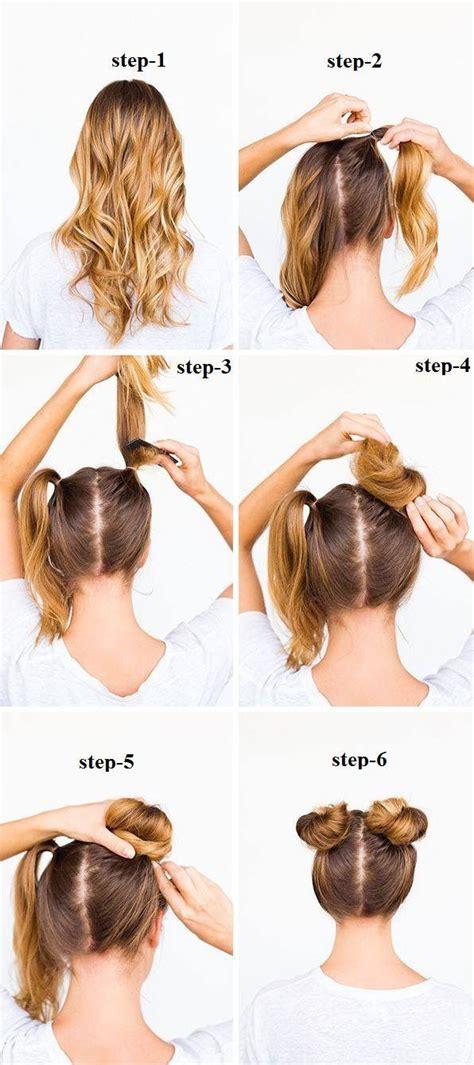 pin  ruth arroyo  hair hair bun tutorial bun