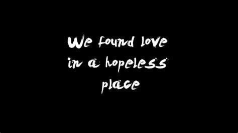when we have love lyrics we found love rihanna lyrics screen description