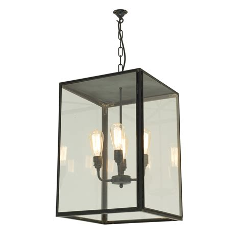 Closed Top Square Pendant Light By Davey Lighting Square Pendant Light