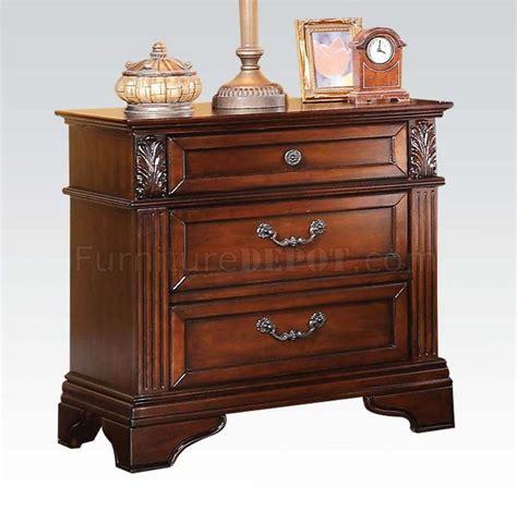 roman bedroom furniture 23340 roman empire iii bedroom in dark cherry by acme w options
