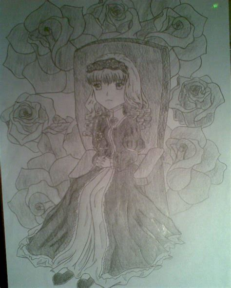 porcelain doll drawing porcelain doll by lizardpartyonthemoon on deviantart