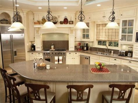 decorating ideas for kitchen islands country decor cheap 6 kitchen island with seating ideas newsonair org