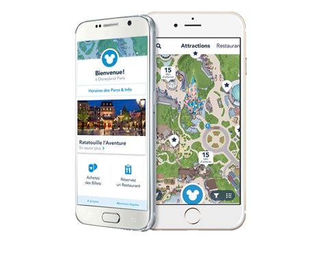 innovation l application mobile disneyland fait