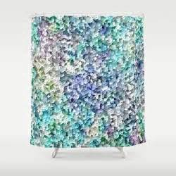 bathroom accessories blue grey and shower curtains on