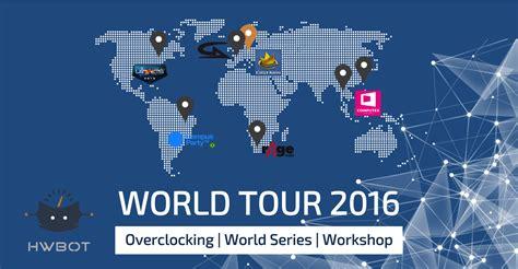 world tour 2016 general information