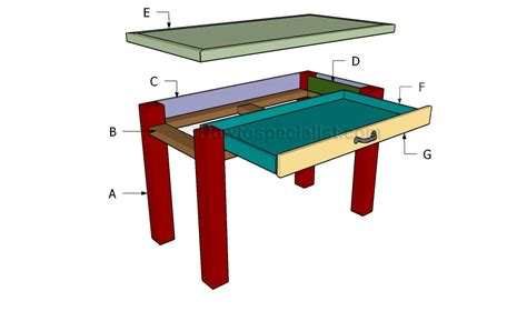Build A Small Desk Diy Desk Plans Howtospecialist How To Build Step By Step Diy Plans