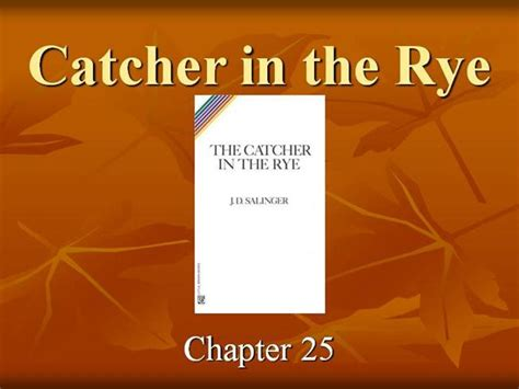 catcher in the rye themes powerpoint catcher in the rye pt 8 authorstream