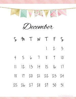 printable december 2017 calendar pretty december 2017 calendar